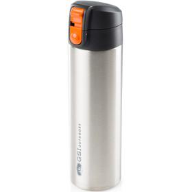 GSI Microlite 500 Flip Juomapullo, edelstahl